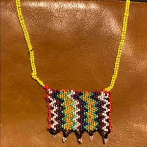 Jewelry - Zulu love letter African bead necklace